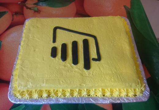 powerbi cake